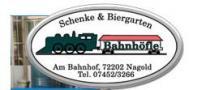 Logo von Restaurant Bahnhöfle Nagold Schenke  Biergarten in Nagold
