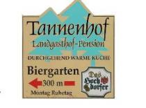 Restaurant Landgasthof Tannenhof in Neubulach-Martinsmoos