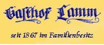 Logo von Restaurant Gasthof Lamm in Sulz