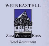 Logo von Restaurant Weinkastell Zum Weissen Ross  in Kallstadt