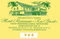 Hotel Restaurant Zur Börsch in Niederkassel-Mondorf