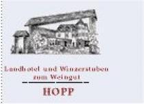 Restaurant Landhotel und Weingut Hopp in Heßheim