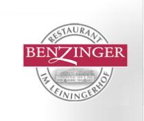 Logo von Restaurant Benzinger im Leiningerhof in Kirchheim an der Weinstraße