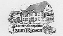 Logo von Restaurant Zum Riesen in Walldürn