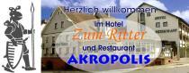 Logo von Restaurant  Zum Ritter  Akropolis  in Walldürn