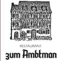 Restaurant zum Ambtman in Neckarsteinach