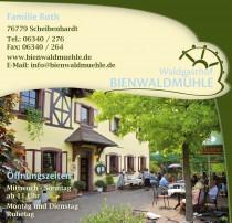 Logo von Restaurant Waldgasthof Bienwaldmühle in Scheibenhardt
