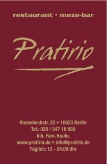 Logo von Restaurant Pratirio in Berlin
