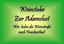 Logo von Restaurant Weinstube Zur Adamslust in Frankenthal