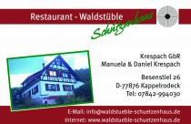 Logo von Restaurant Waldstüble Schützenhaus in Kappelrodeck