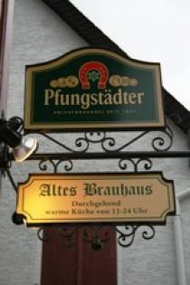 Logo von Restaurant Gaststtte Altes Brauhaus  in Zwingenberg