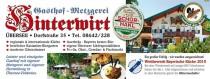 Restaurant Gasthof Hinterwirt in Übersee am Chiemsee