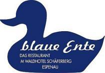 Logo von Restaurant blaue Ente im Waldhotel Schferberg in Espenau bei Kassel