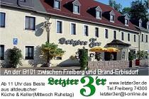 Restaurant Gasthof letzter Dreier in Freiberg
