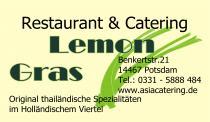 Logo von Thai Restaurant LemonGras Potsdam in Potsdam