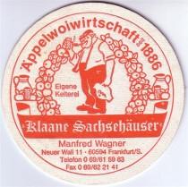 Restaurant Klaane Sachsehuser in Frankfurt am Main