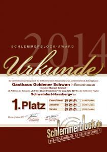 Restaurant Goldener Schwan in Ermershausen