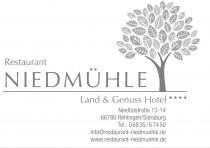 Logo von Restaurant Niedmühle in Rehlingen-Siersburg
