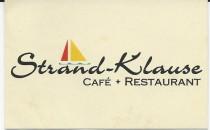 Restaurant Strandklause in Laboe
