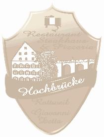 Logo von Restaurant Pizzeria Steakhouse Hochbrücke in Rottweil