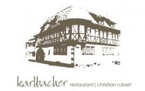 Logo von karlbacher restaurant  christian rubert in Großkarlbach