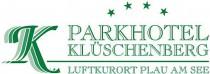 Logo von Restaurant Parkhotel Klüschenberg in Plau am See