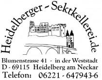 Logo von Restaurant Heidelberger Sektkellerei  Heidelberg Home of Gin in Heidelberg