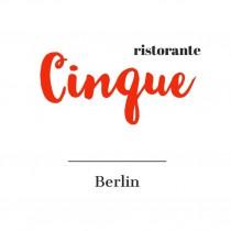 Logo von Restaurant Ristorante Cinque GmbH in Berlin
