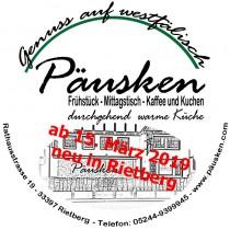 Logo von Restaurant Cafe und Gaststtte Pusken in Rietberg