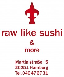 Logo von Restaurant Raw Like Sushi in Hamburg