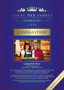 Logo von Restaurant Landgasthof Stangl in Moosinning