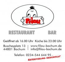 Logo von FILOU  Restaurant  Bar in Bochum