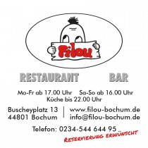 FILOU  Restaurant  Bar in Bochum